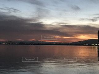 日の出前の写真・画像素材[354627]