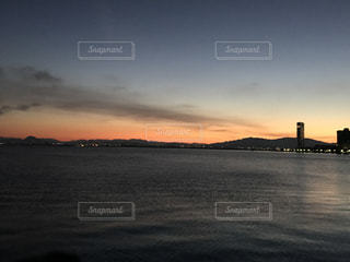 Lake Biwa Shiga Japanの写真・画像素材[354728]