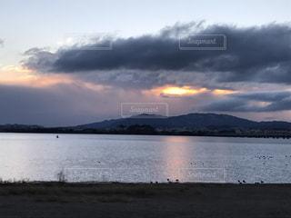 Lake Biwa Shiga Japanの写真・画像素材[354730]