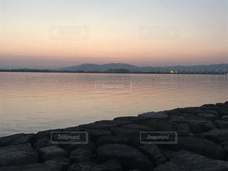 Lake Biwa Shiga Japanの写真・画像素材[354733]