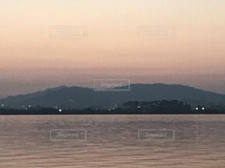 Lake Biwa Shiga Japanの写真・画像素材[354734]