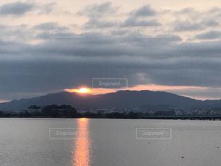 Lake Biwa Shiga Japanの写真・画像素材[354735]