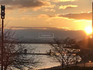 Lake Biwa Shiga Japanの写真・画像素材[358205]