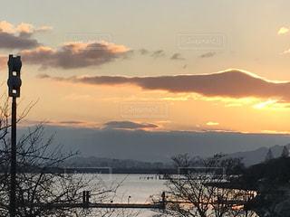 Lake Biwa Shiga Japanの写真・画像素材[358206]