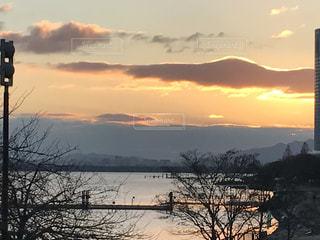 Lake Biwa Shiga Japanの写真・画像素材[358207]