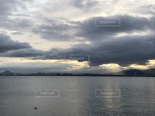 Lake Biwa Shiga Japanの写真・画像素材[371292]