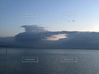 Lake Biwa Shiga Japanの写真・画像素材[373659]