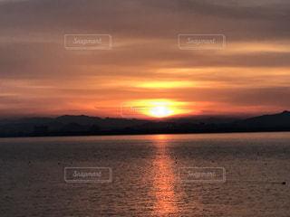 Lake Biwa Shiga Japanの写真・画像素材[381550]