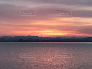 Lake Biwa Shiga Japanの写真・画像素材[381551]