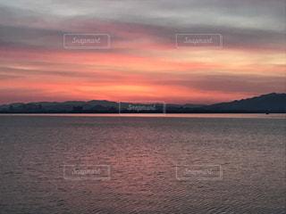 Lake Biwa Shiga Japanの写真・画像素材[381552]