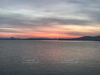 Lake Biwa Shiga Japanの写真・画像素材[381553]
