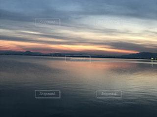Lake Biwa Shiga Japanの写真・画像素材[381555]