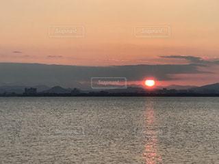 Lake Biwa Shiga Japanの写真・画像素材[381556]