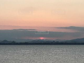Lake Biwa Shiga Japanの写真・画像素材[381557]