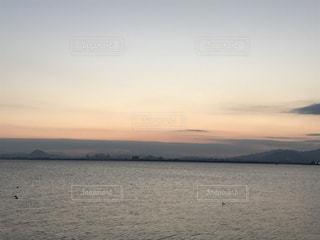 Lake Biwa Shiga Japanの写真・画像素材[381558]