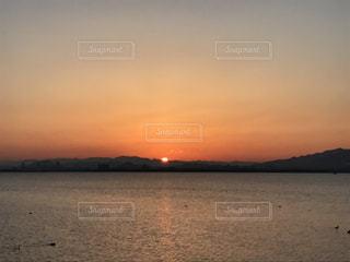 Lake Biwa Shiga Japanの写真・画像素材[386209]