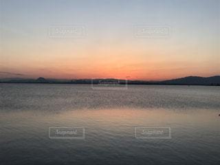 Lake Biwa Shiga Japanの写真・画像素材[386211]