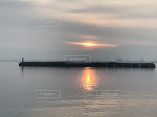 日の出の写真・画像素材[416376]