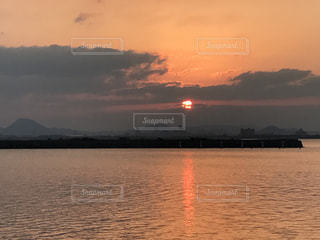 日の出の写真・画像素材[416377]
