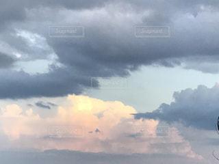 琵琶湖上空の写真・画像素材[686966]