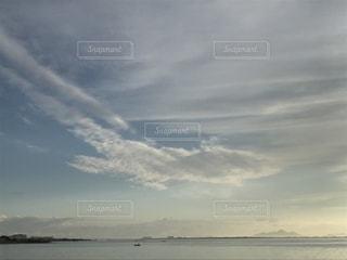 その雲、どこ行く?の写真・画像素材[739545]