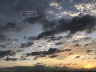 日の出の写真・画像素材[755744]