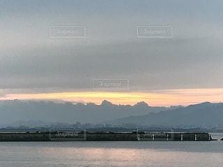 日の出の写真・画像素材[772482]