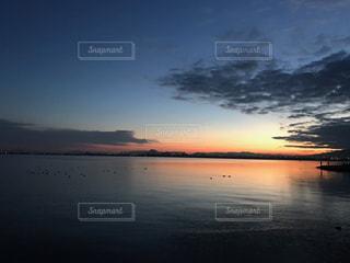 日の出前の写真・画像素材[1061312]
