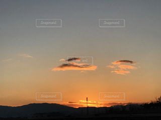 日の出前の写真・画像素材[1061315]