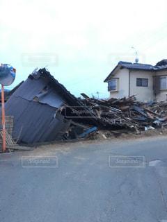 震災の真実の写真・画像素材[359834]
