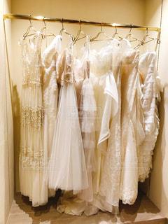 ウェディングドレスの写真・画像素材[966774]