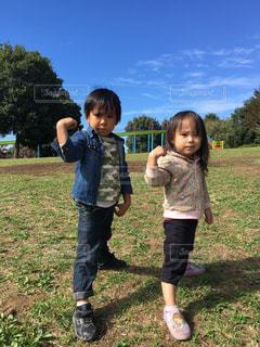 子どもの写真・画像素材[357881]