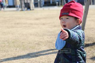 野球帽を被った少年の写真・画像素材[993172]
