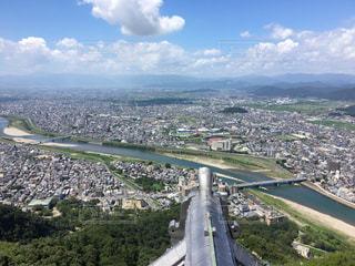 岐阜城からの眺めの写真・画像素材[701138]