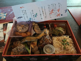 長良川鵜飼のお弁当の写真・画像素材[701146]