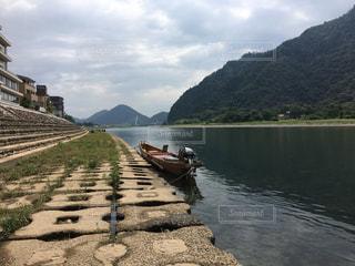 長良川のほとりの写真・画像素材[701163]