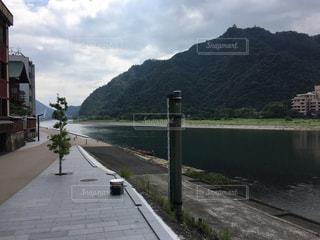 長良川のほとりの写真・画像素材[701166]