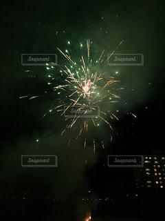 冬の花火の写真・画像素材[360658]