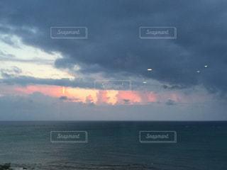雲と海の写真・画像素材[361465]