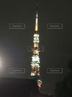 夜のタワーの写真・画像素材[760845]