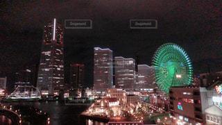 夜の街の景色 - No.1211301