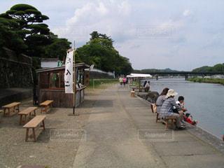河原の写真・画像素材[363877]