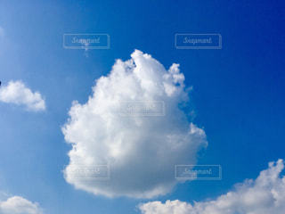 青い空に雲の写真・画像素材[768724]