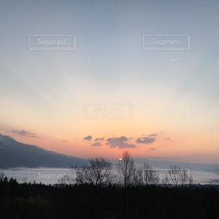 日の出の写真・画像素材[812375]
