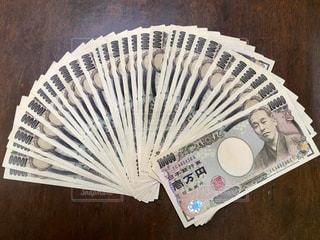 一万円札。の写真・画像素材[829799]