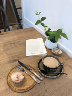 カフェの写真・画像素材[487981]