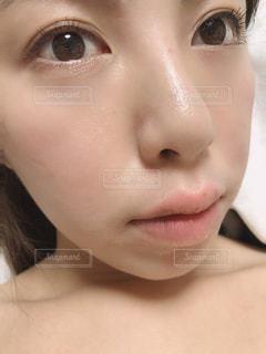 すっぴん素肌の写真・画像素材[2279613]