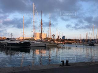 バルセロナの港の写真・画像素材[646899]