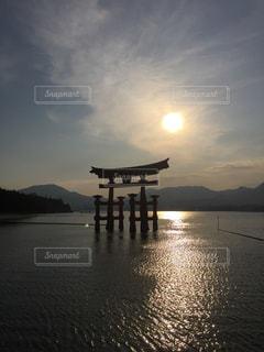 夕日の写真・画像素材[363683]