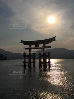 夕日の写真・画像素材[363684]